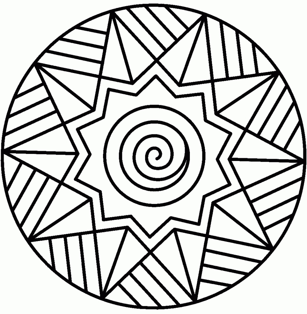 free mandala coloring pages - free printable mandalas kids