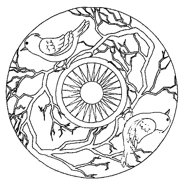 free mandala coloring pages - mandala