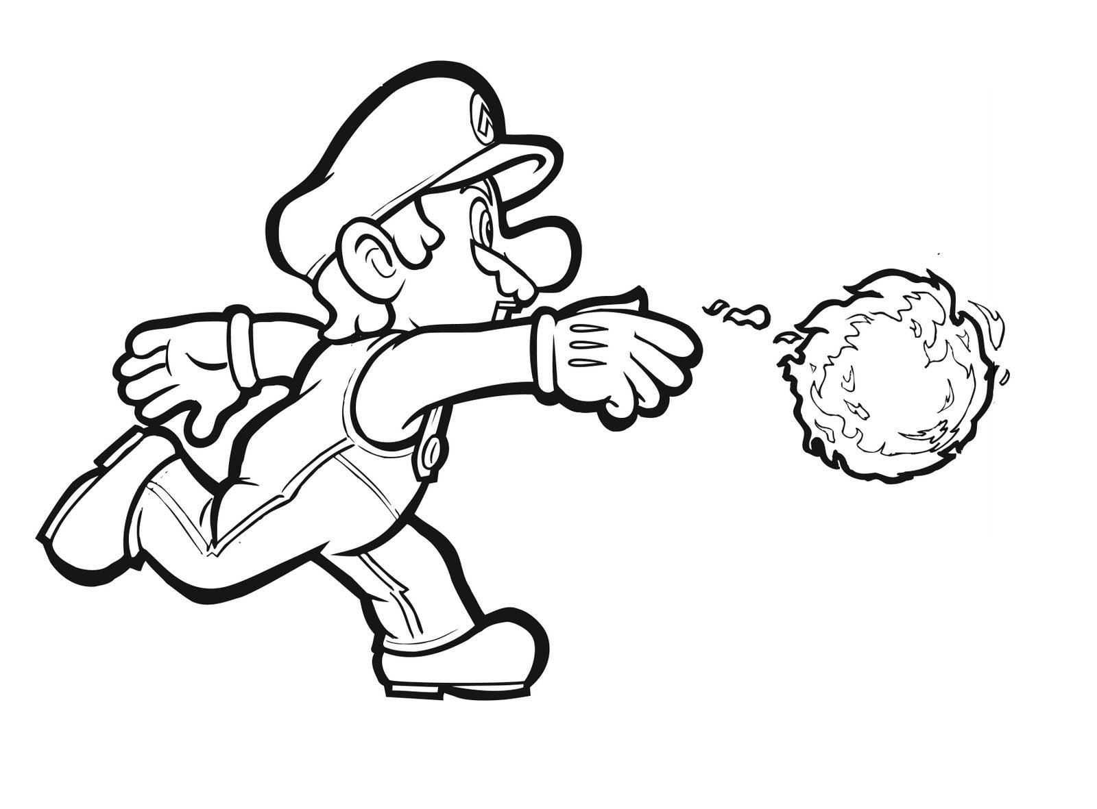 25 Free Mario Coloring Pages Images Free Coloring Pages Part 3