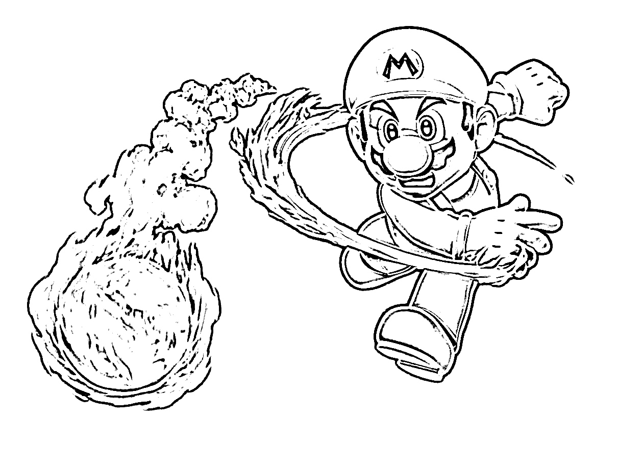 25 Free Mario Coloring Pages Images | FREE COLORING PAGES - Part 2