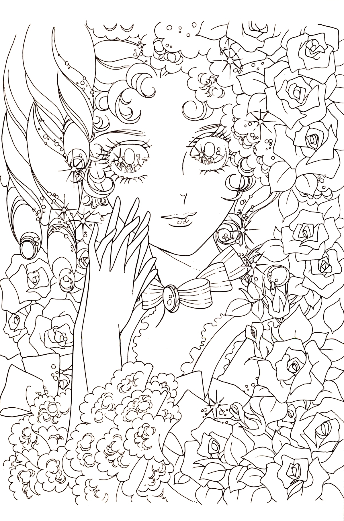 free mermaid coloring pages - index