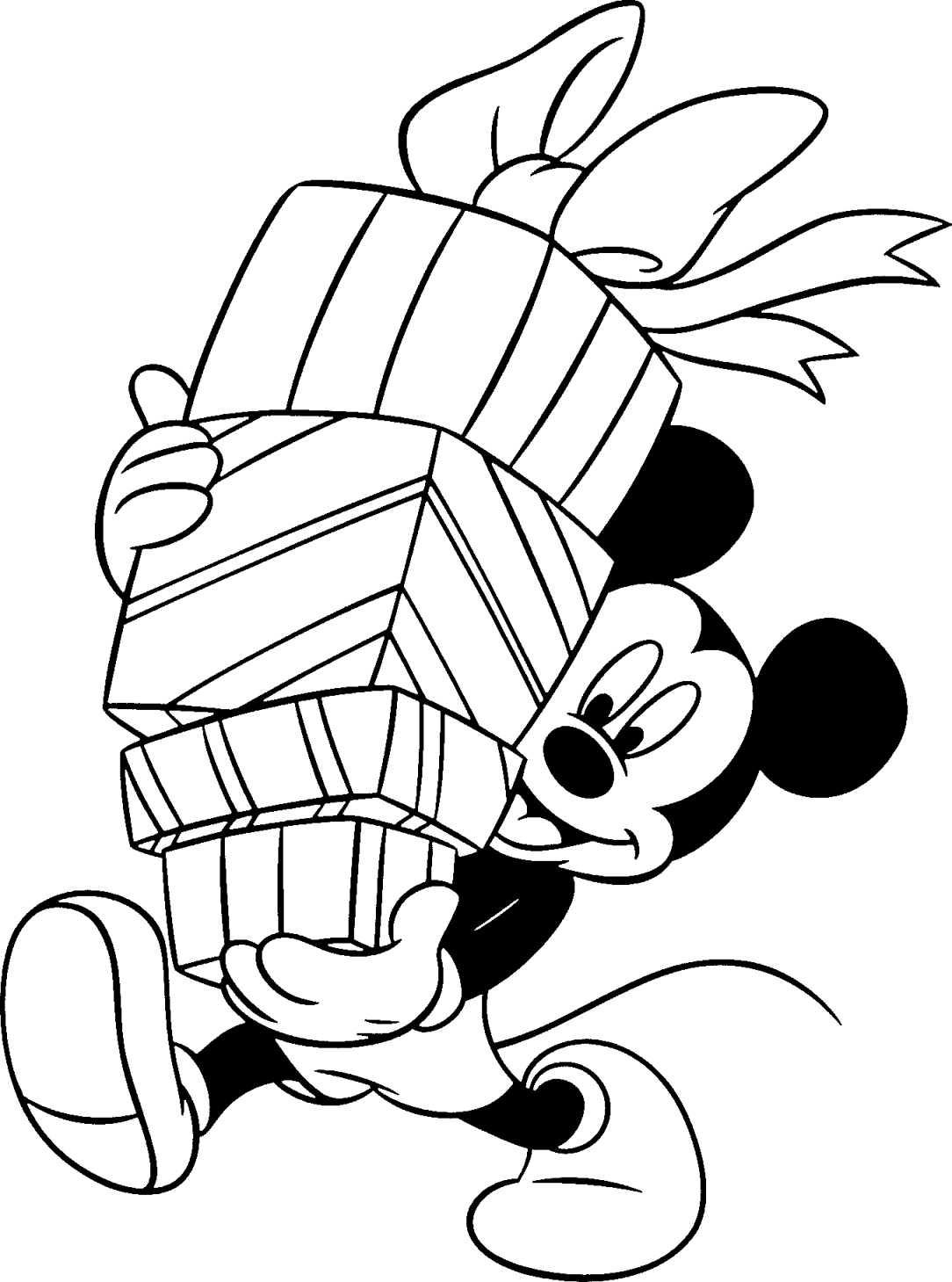 free mickey mouse coloring pages - 774