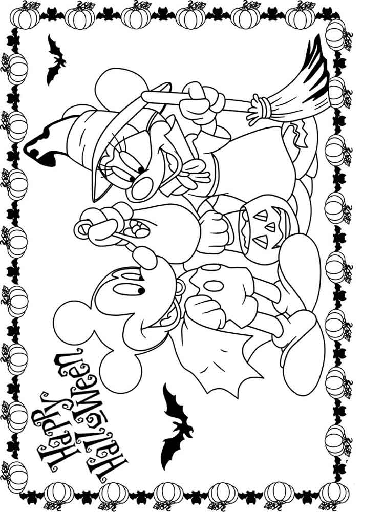 Free Mickey Mouse Coloring Pages - Free Printable Mickey and Minnie Mouse Coloring Pages