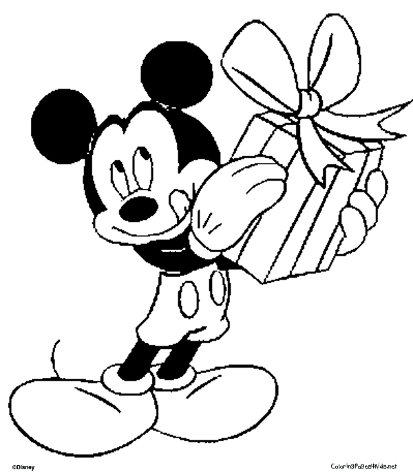 free mickey mouse coloring pages - mickey mouse coloring pages