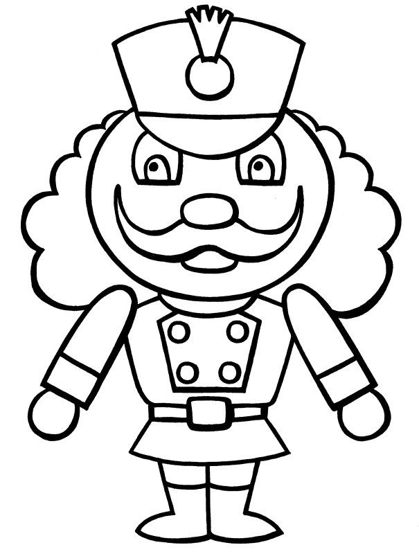 free minion coloring pages - christmas nutcracker coloring pages