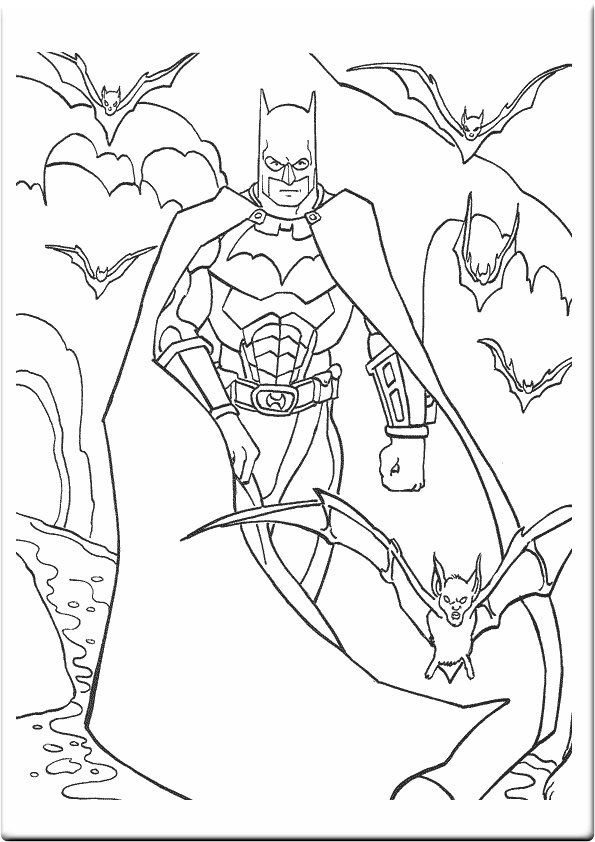 free minnie mouse coloring pages - batman coloring pages