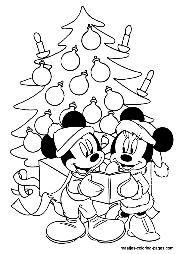 Free Minnie Mouse Coloring Pages - Minnie Mouse Christmas Coloring Pages Coloring Home
