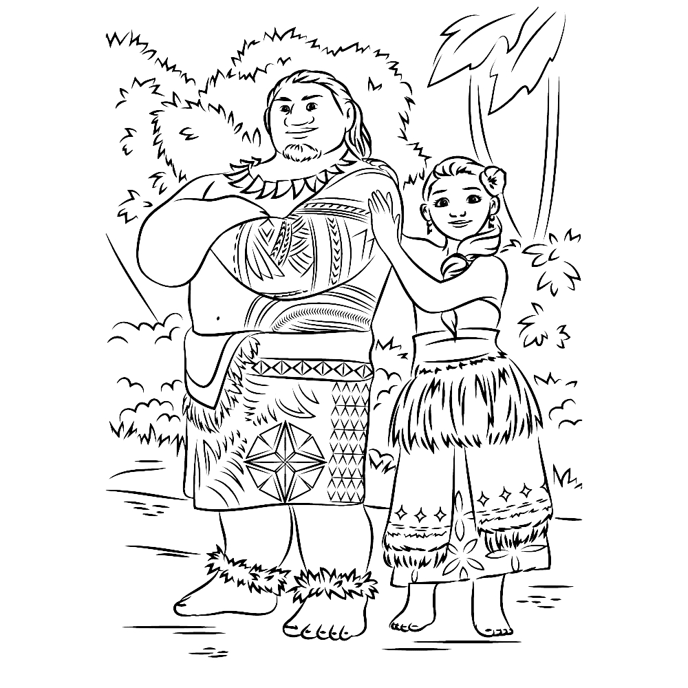 Free Moana Coloring Pages - top 10 Moana Coloring Pages Free Printables
