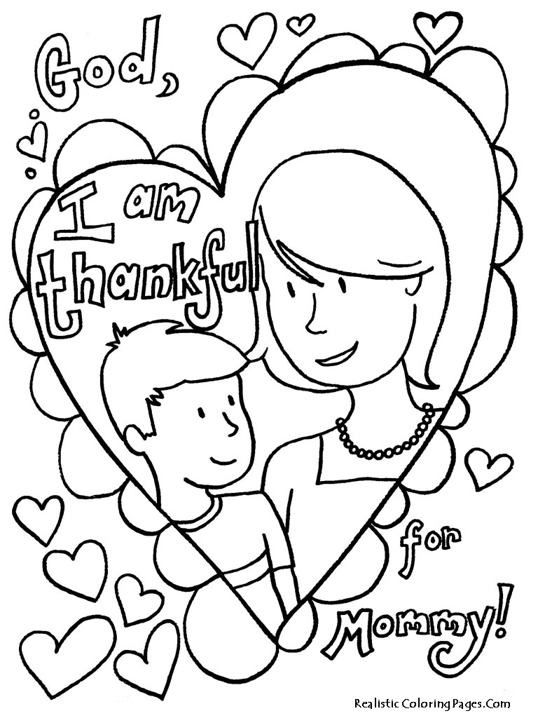 free mothers day coloring pages - printable mothers day coloring pages