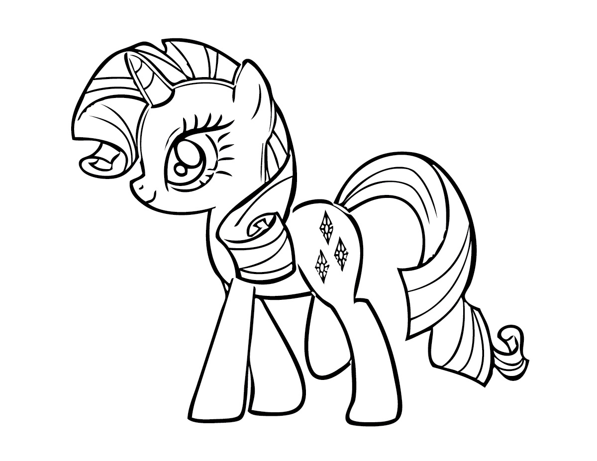 Free My Little Pony Coloring Pages - Free Printable My Little Pony Coloring Pages for Kids