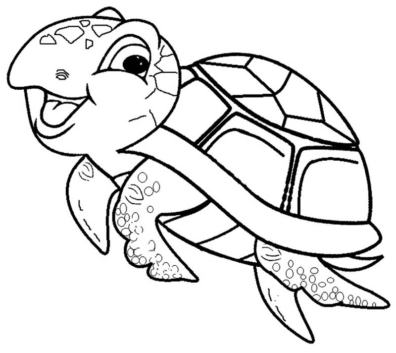 free ninja turtle coloring pages - best easy turtle coloring pages for kids 1326