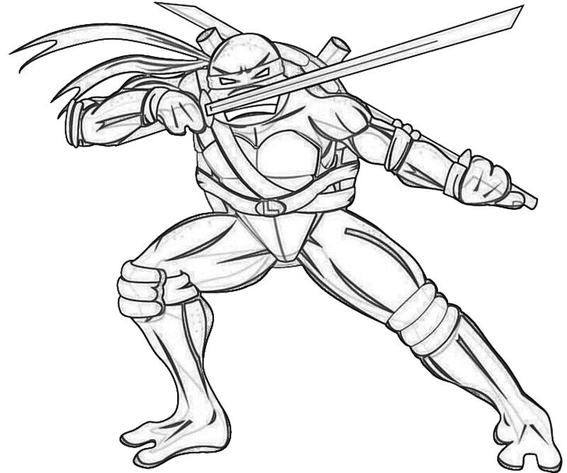 25 Free Ninja Turtle Coloring Pages Images | FREE COLORING PAGES
