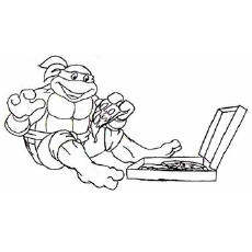 free ninja turtle coloring pages - fun ninja turtles coloring pages your toddler will love to do