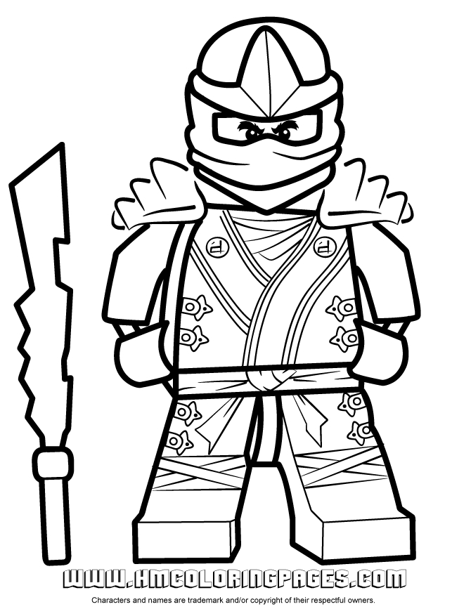 free ninjago coloring pages - coloring pages 8495