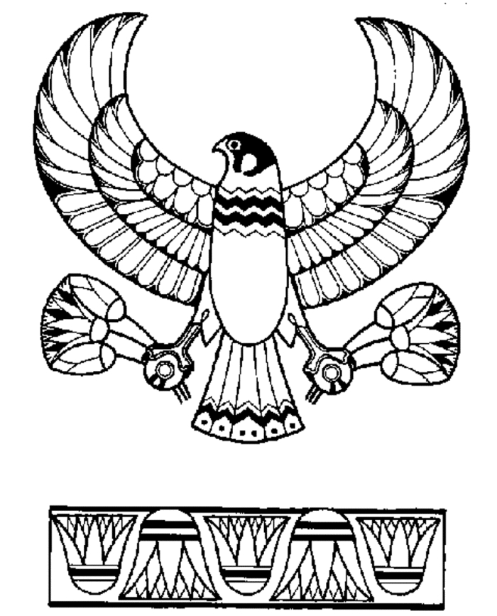 free online coloring pages for adults - pharaoh coloring pages
