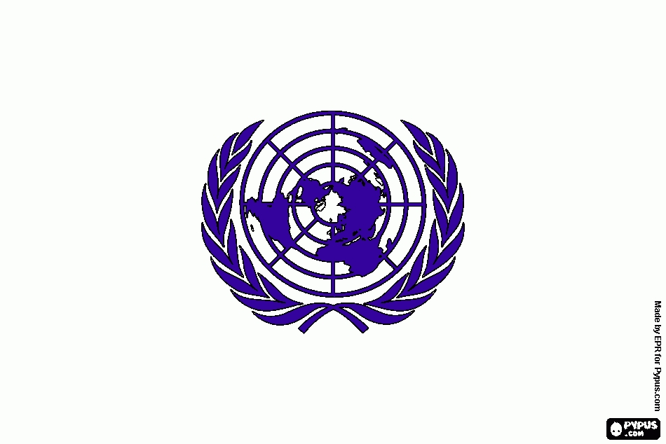 free online coloring pages - coloring page un logo