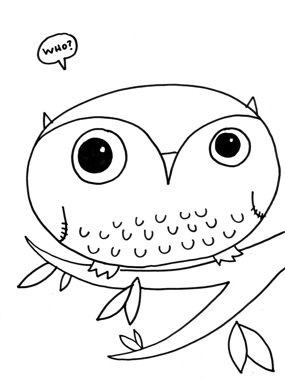 free owl coloring pages - owl coloring pages