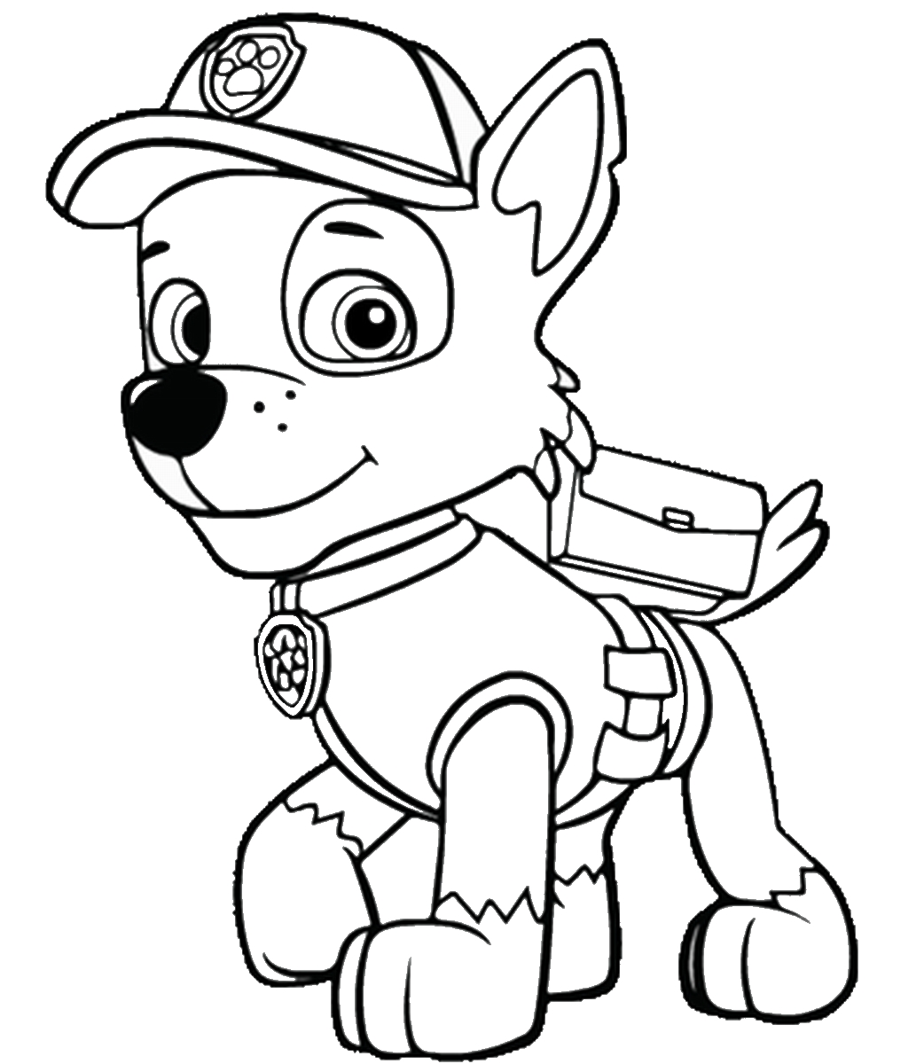 free paw patrol coloring pages - q=paw patrol