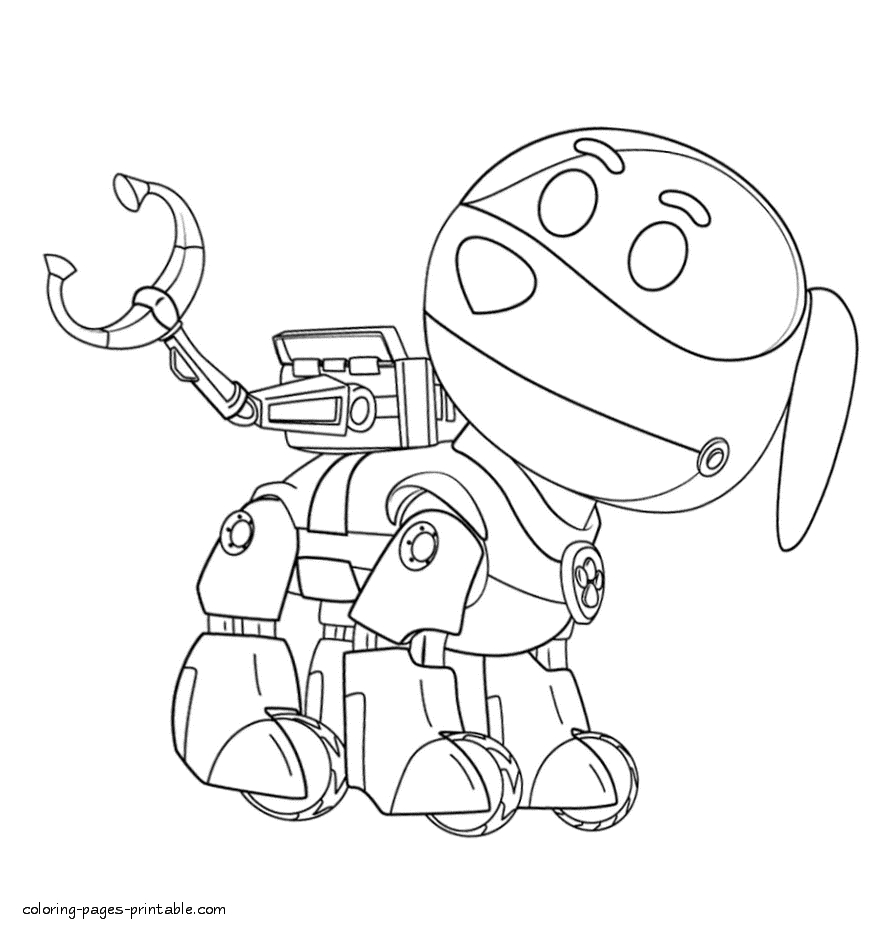 free paw patrol coloring pages - paw patrol coloring pages id=41