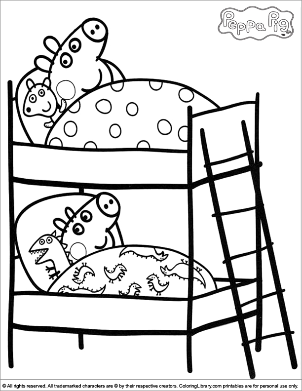 21 Free Peppa Pig Coloring Pages Compilation Free Coloring