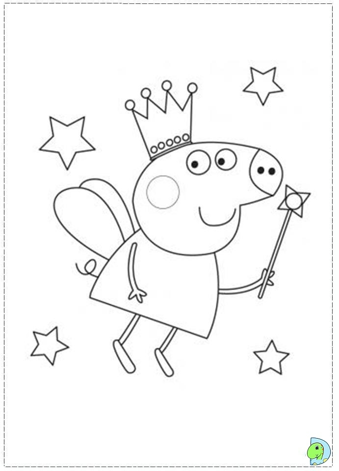 free peppa pig coloring pages - r=peppa pig