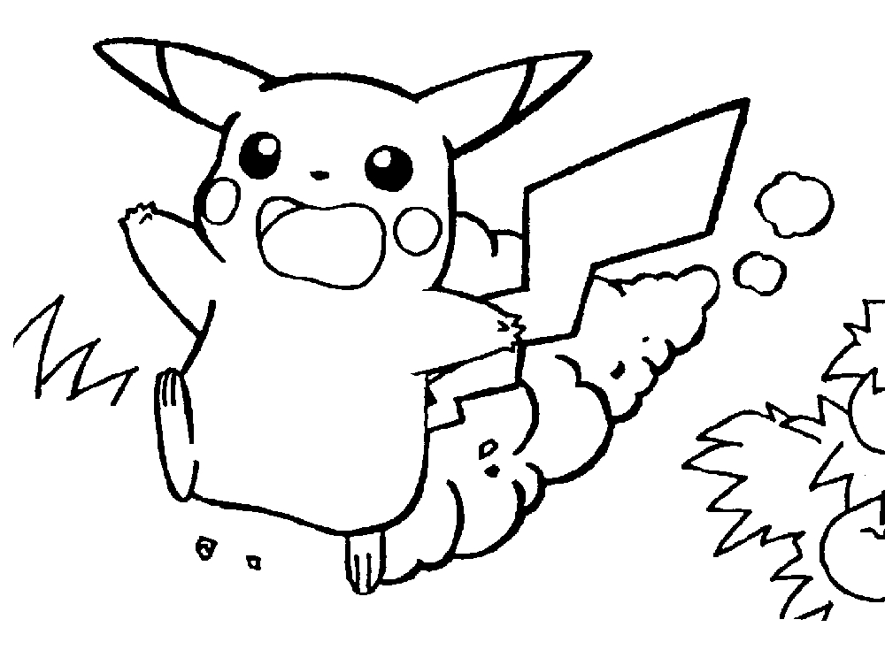 free pokemon coloring pages - omal5