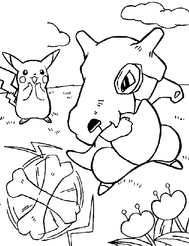 Free Pokemon Coloring Pages - Pokemon Coloring Pages Free Coloring Home