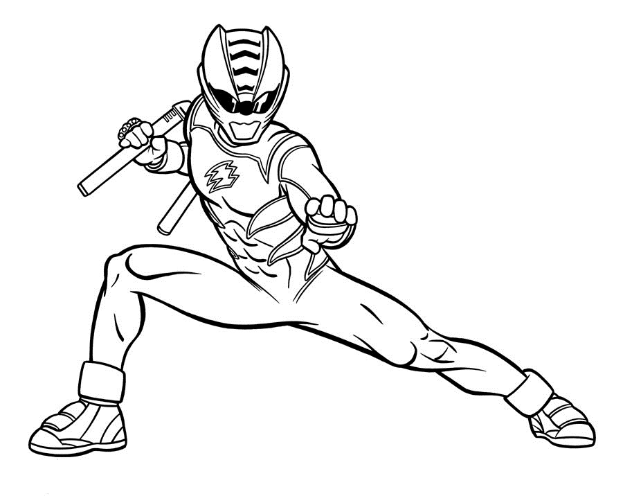 free power ranger coloring pages - free coloring media