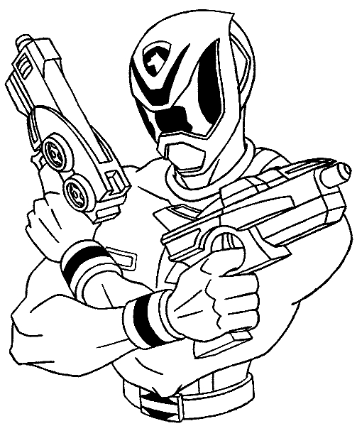 free power ranger coloring pages - power rangers