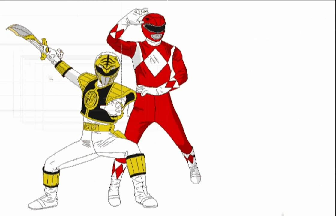 free power ranger coloring pages - watch v=o97sq1Mklb8