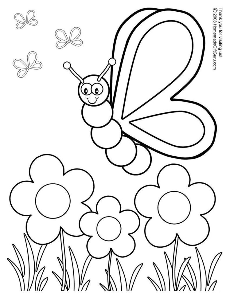 free preschool coloring pages - christmas preschool coloring pages
