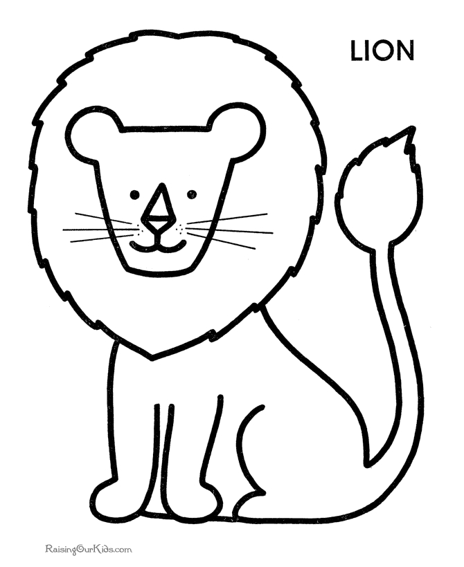 Free Preschool Coloring Pages - Free Coloring Pages Preschool