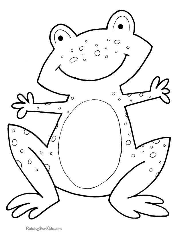 free preschool coloring pages - 017 preschool printables