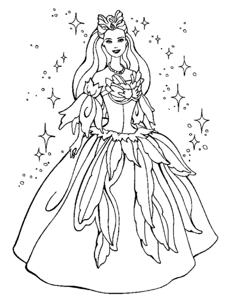 free princess coloring pages - princess coloring pages 898