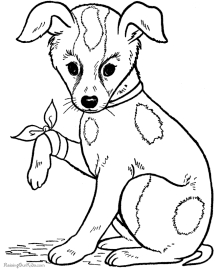 Free Printable Alphabet Coloring Pages - Dog Coloring Pages Free and Printable