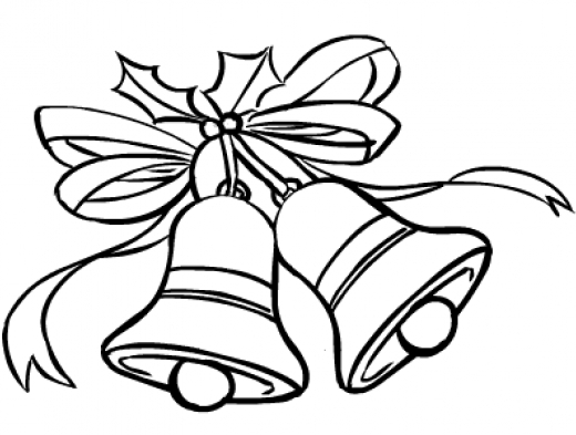 free printable bible coloring pages - r=christmas bell outline