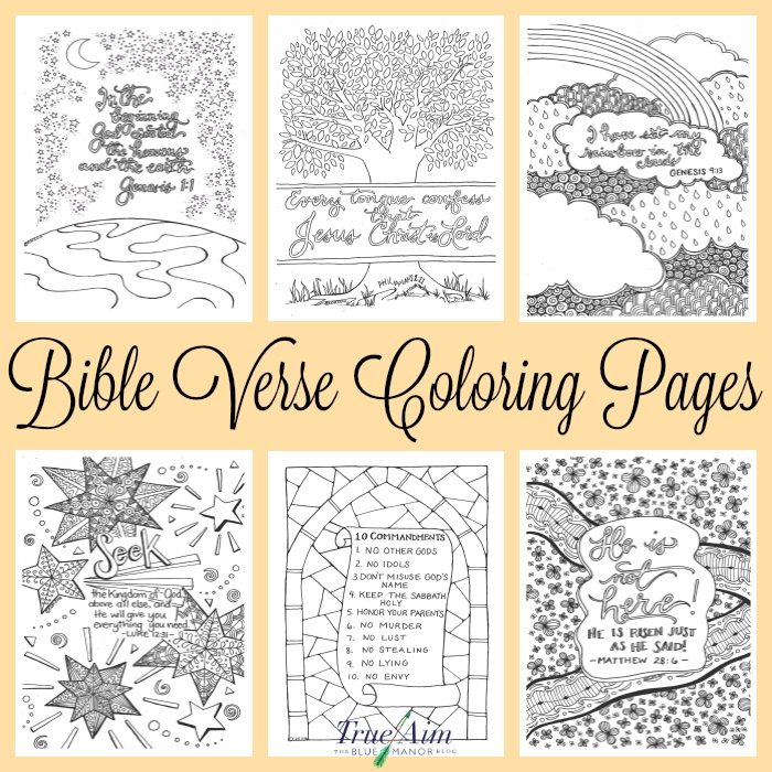 free printable bible coloring pages with scriptures - bible verse coloring pages