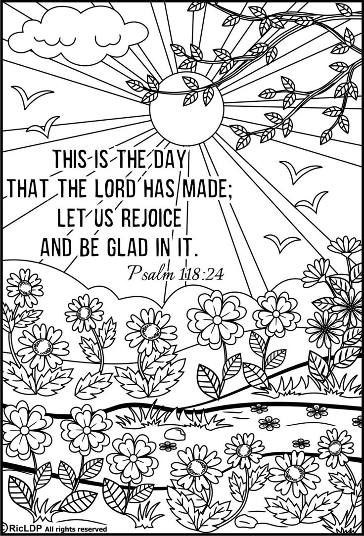 free printable bible coloring pages with scriptures - bible coloring pages