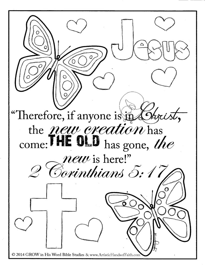 25 Free Printable Bible Coloring Pages with Scriptures Pictures ...