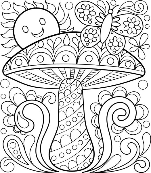 Free Printable Coloring Book Pages for Adults - Coloring Pages for Adults Pdf Free Download