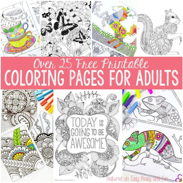 free printable coloring book pages for adults - free coloring pages for adults