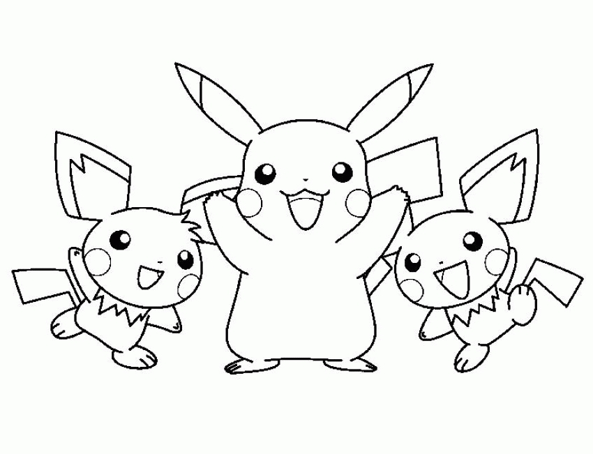 free printable coloring pages for adults - pokemon coloring pages pikachu