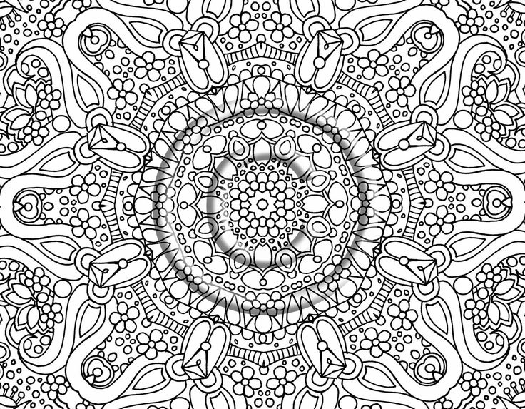 free printable coloring pages for adults only - abstract coloring pages