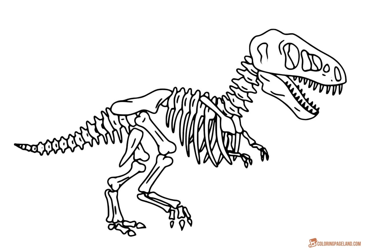 free printable coloring pages for adults only - t rex