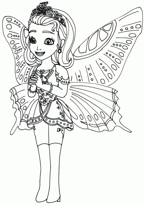 free printable coloring pages for girls - de colorat