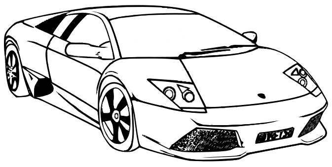 free printable coloring pages for girls - lamborghini coloring pages coloring pages of cars 16 printable coloring pages