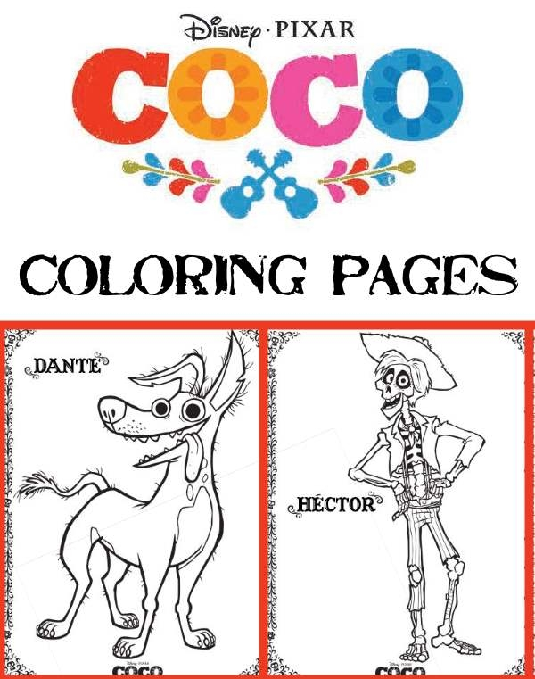free printable disney coloring pages - coco coloring pages activities