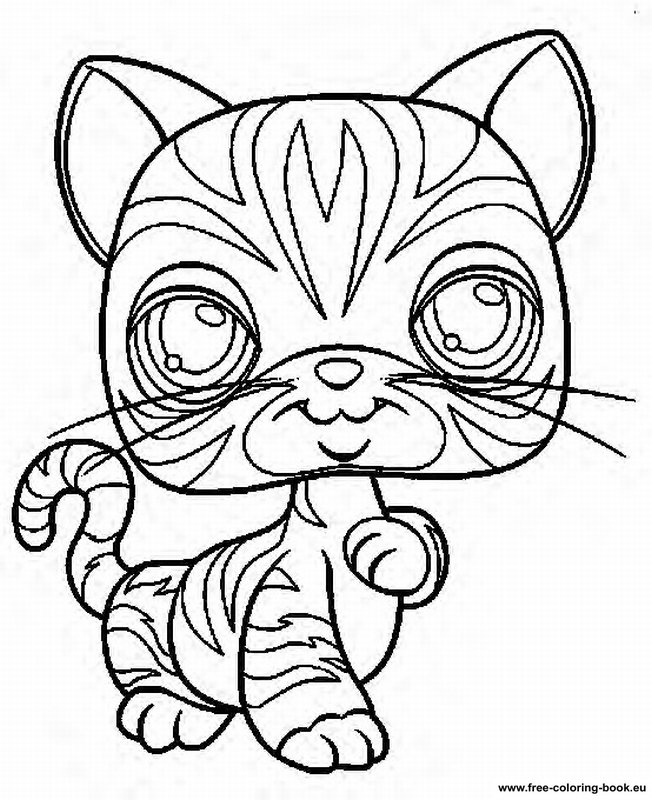 free printable disney coloring pages - my little pet shop