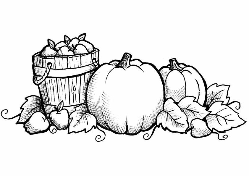 Free Printable Fall Coloring Pages - Free Printable Fall Coloring Pages for Kids Best