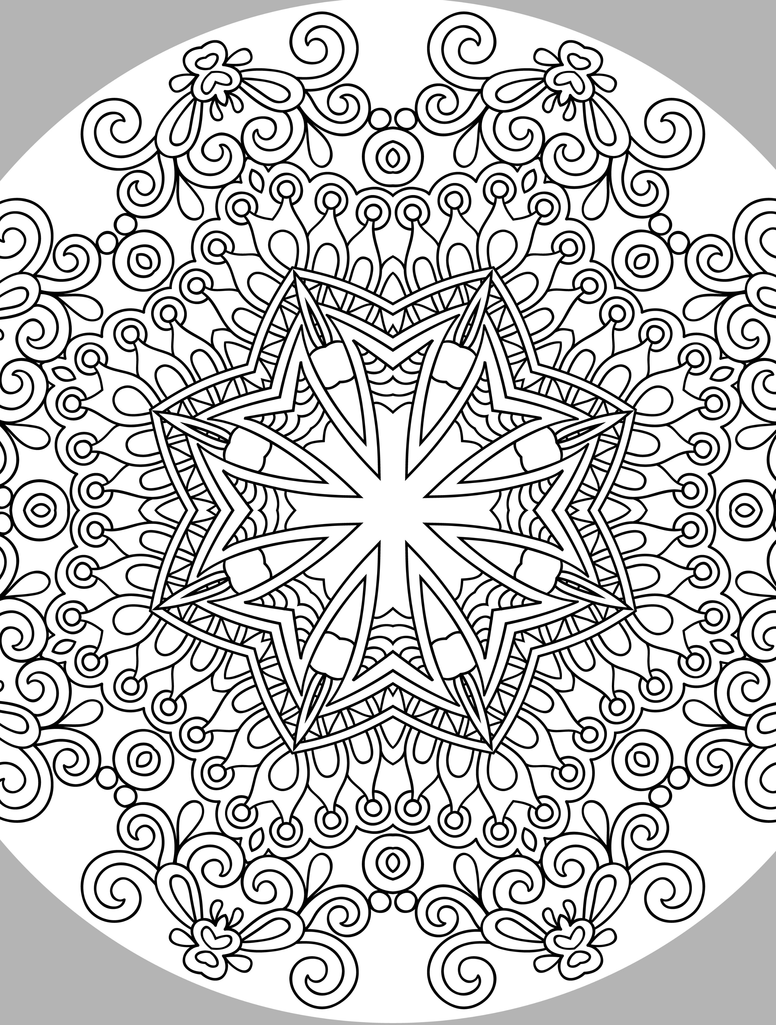 Free Printable Holiday Coloring Pages - 10 Free Printable Holiday Adult Coloring Pages